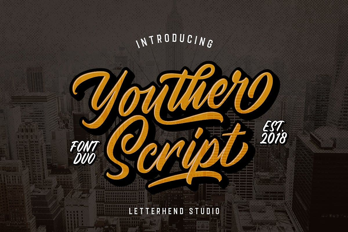 Download Youther font (typeface)