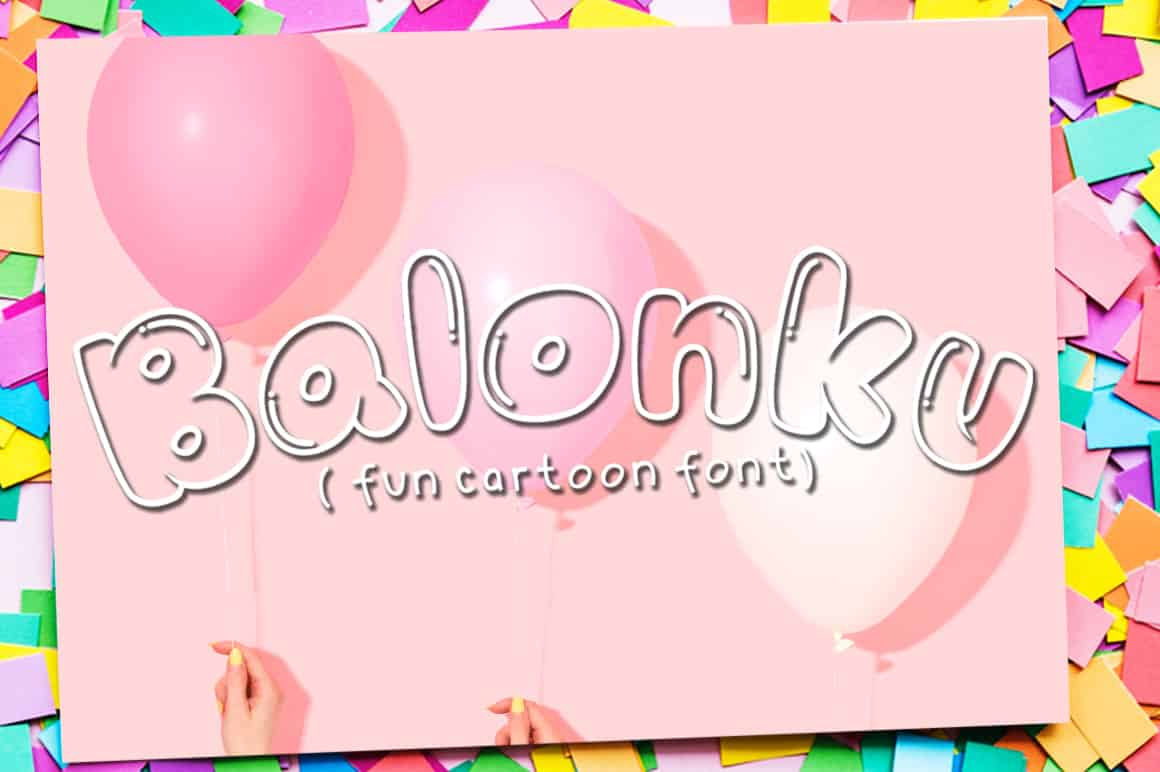 Download Balonku font (typeface)