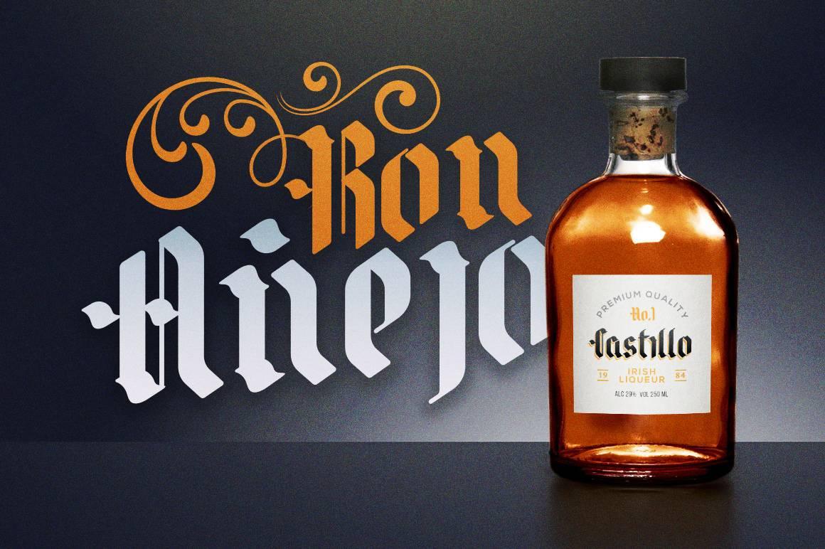 Download Castillo Blackletter font (typeface)