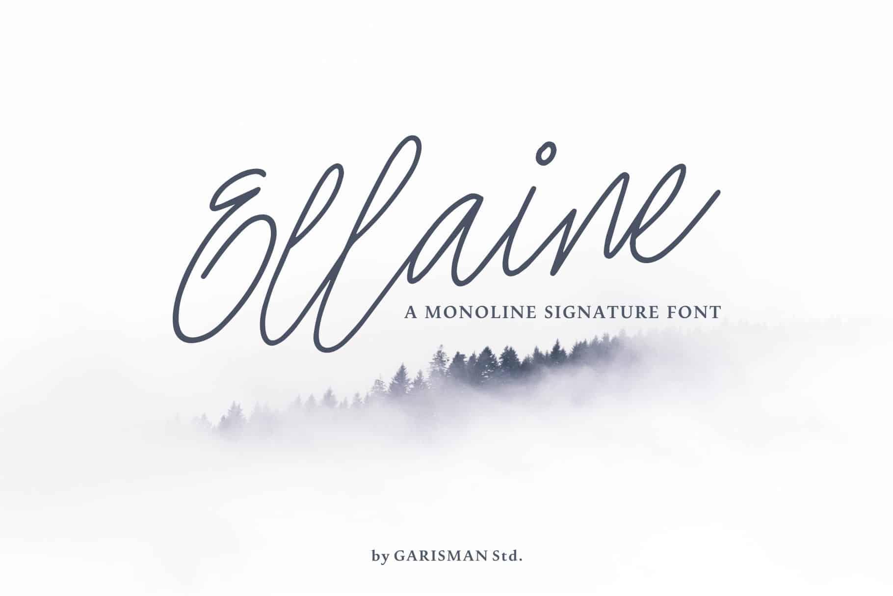 Download Ellaine font (typeface)