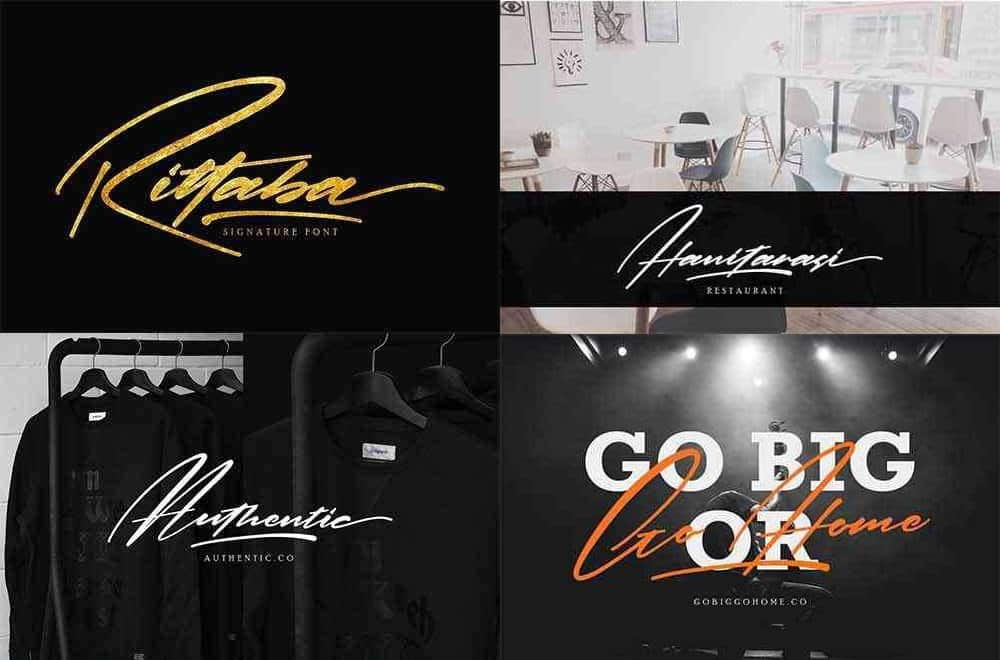 Download Rittaba font (typeface)