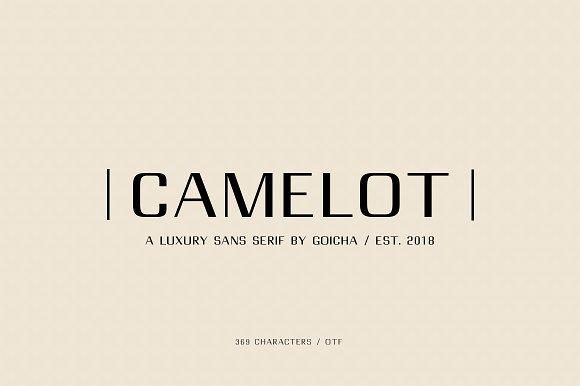 Download Camelot font (typeface)