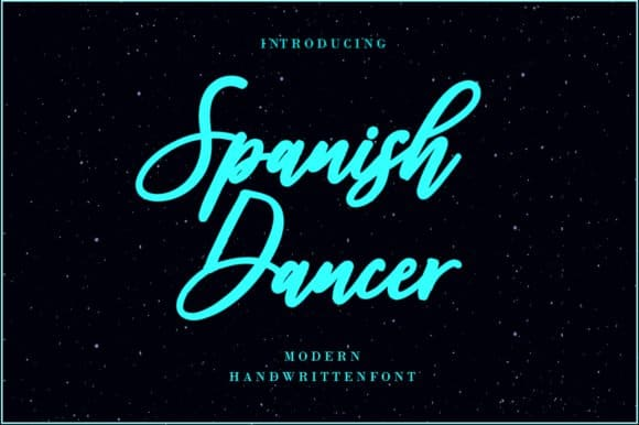 Download Spanish Dancer Font font (typeface)