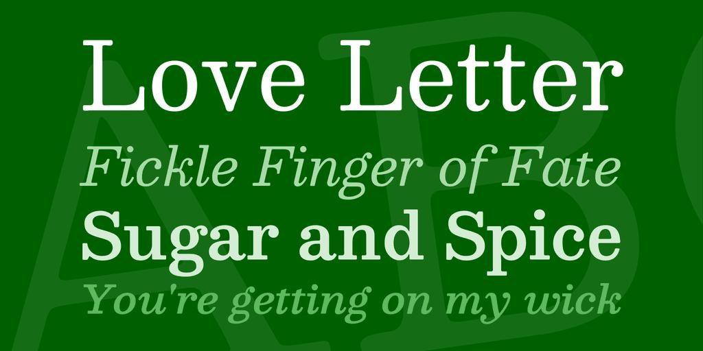 Download Besley font (typeface)