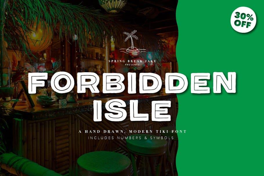 Download Forbidden Isle Tiki font (typeface)