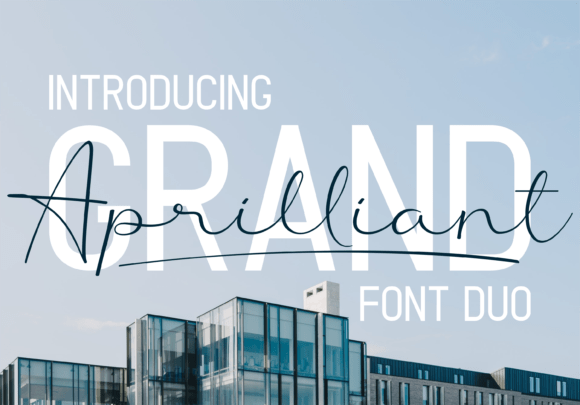 Download Grand Aprilliant font (typeface)