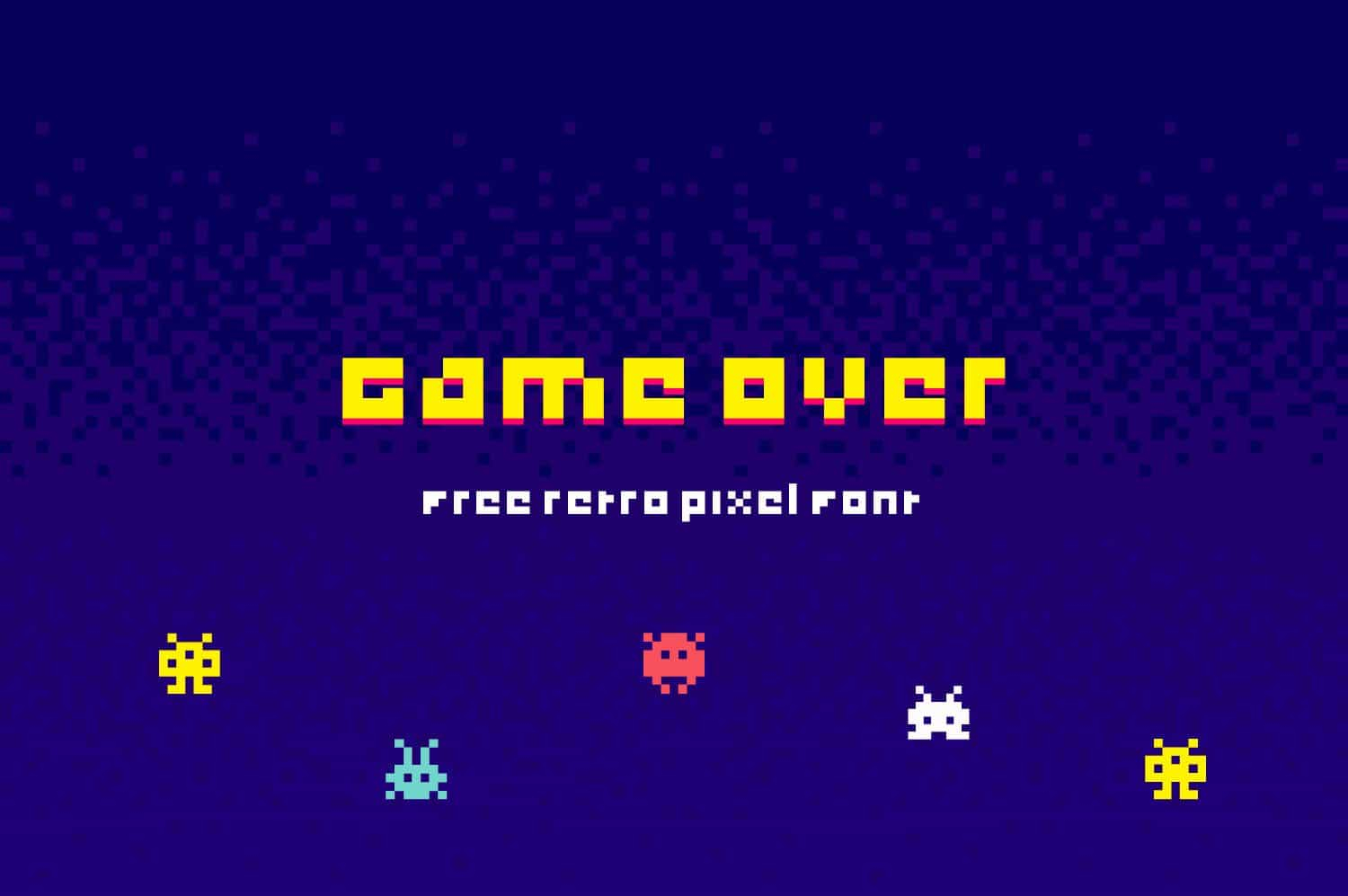 Download Game Over font (typeface)
