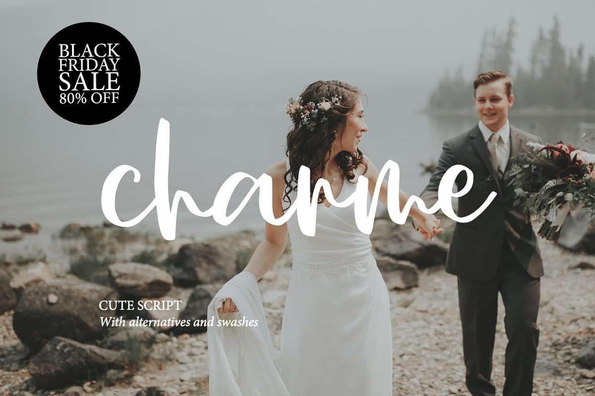 Download CHARME SCRIPT font (typeface)