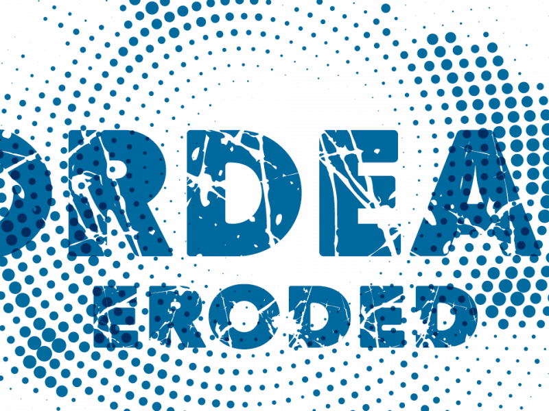 Download ORDEAL eroded font (typeface)