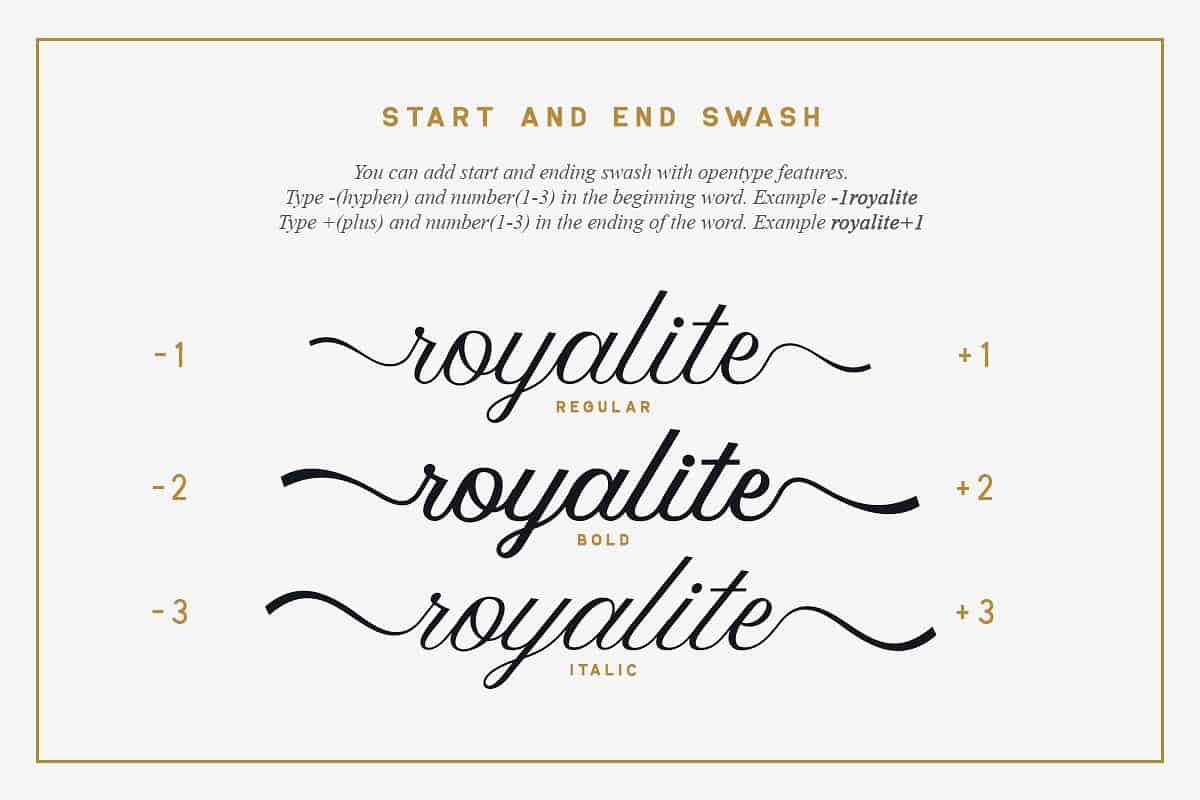 Download Royalite font (typeface)