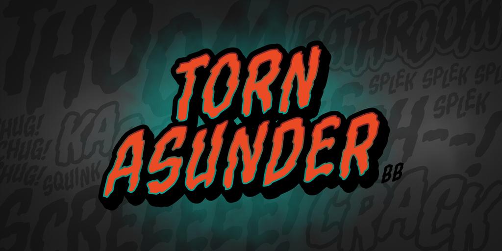 Download Torn Asunder BB font (typeface)
