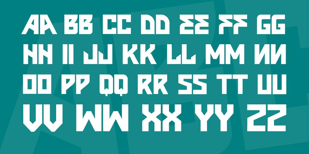 Download VTKS INSONE font (typeface)