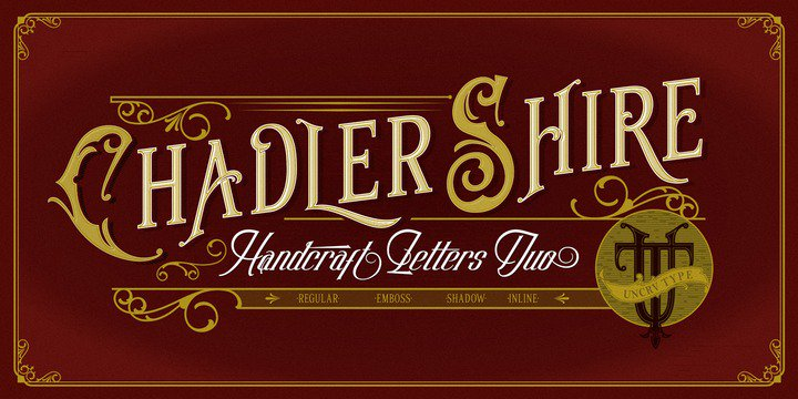 Download Chadlershire font (typeface)