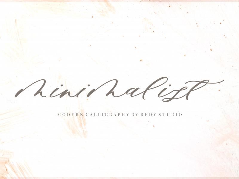 Download Minimalist font (typeface)