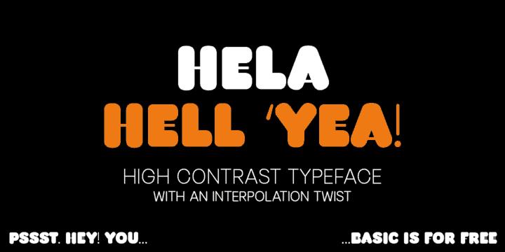 Download Hela font (typeface)