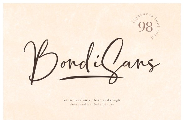 BondiSans шрифт скачать бесплатно