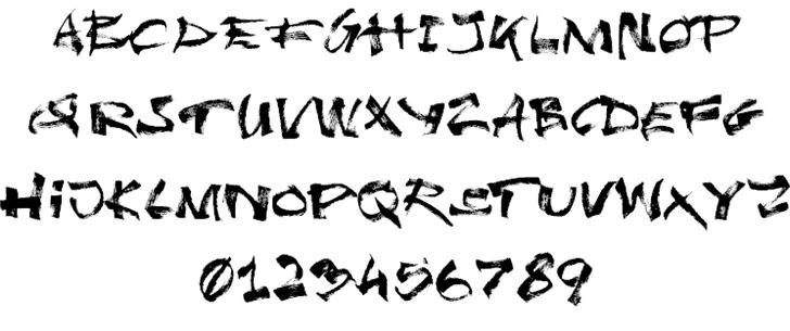 Undergrunge шрифт скачать бесплатно