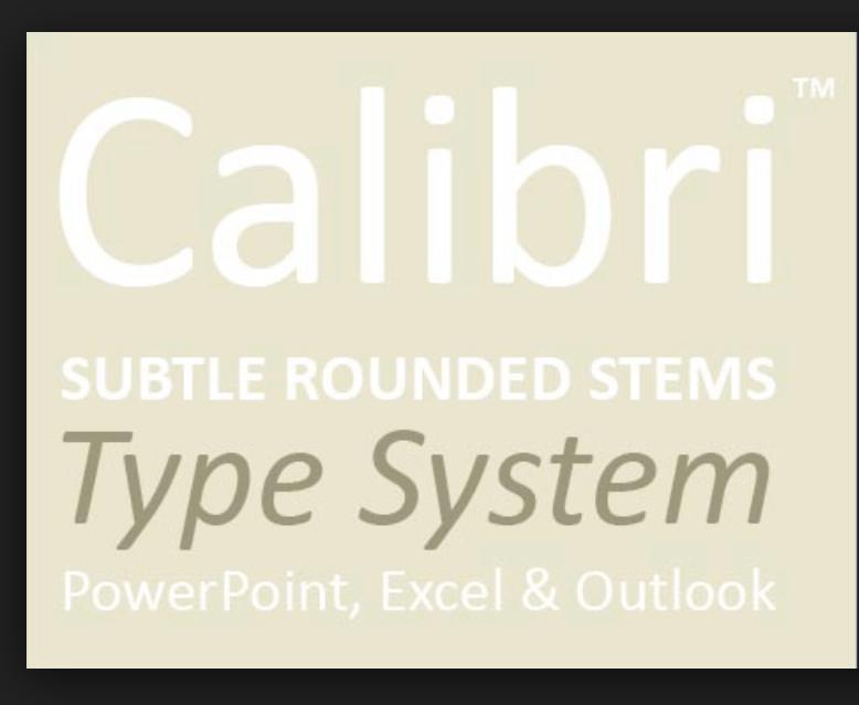 Download Calibri font (typeface)