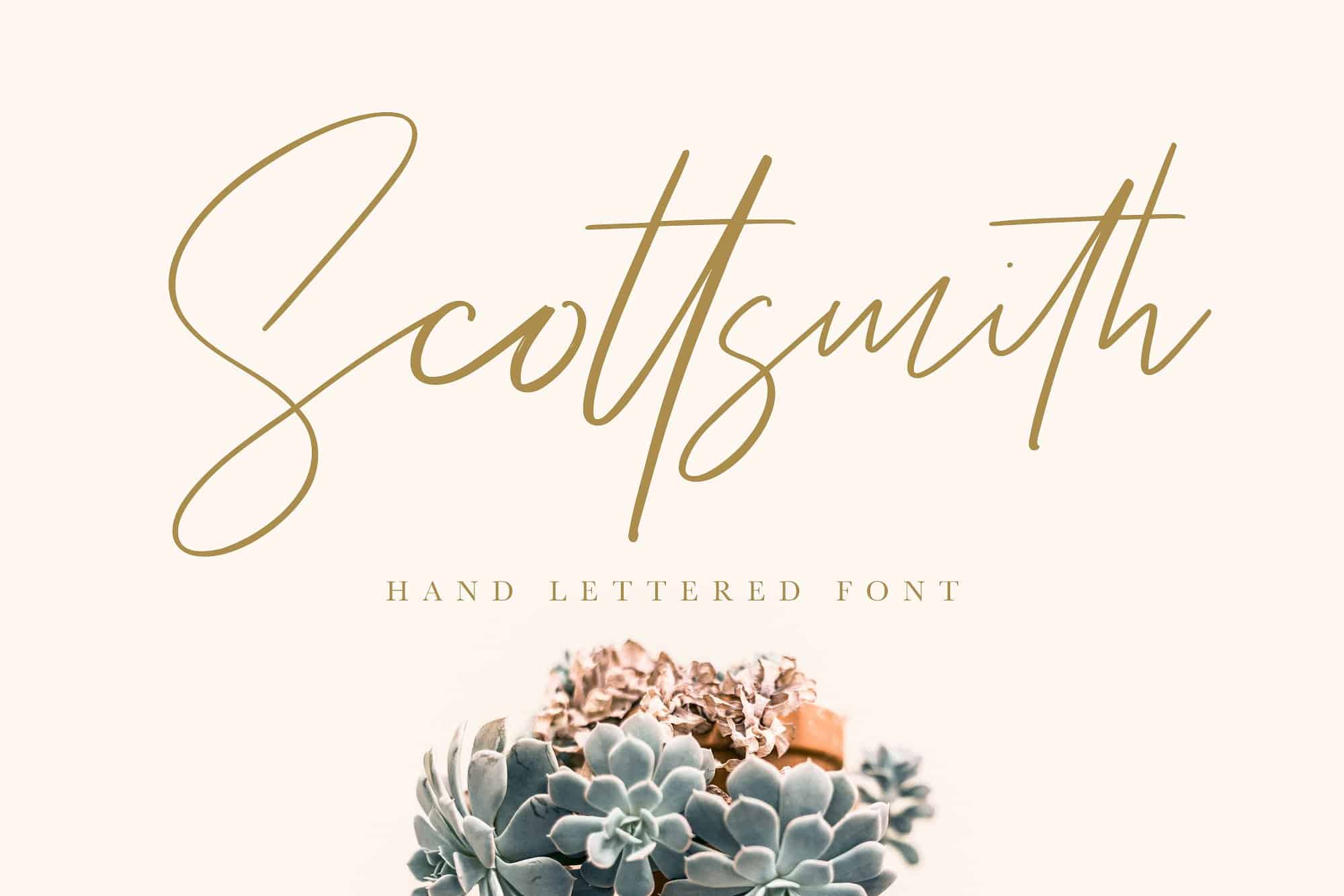 Download Scottsmith font (typeface)