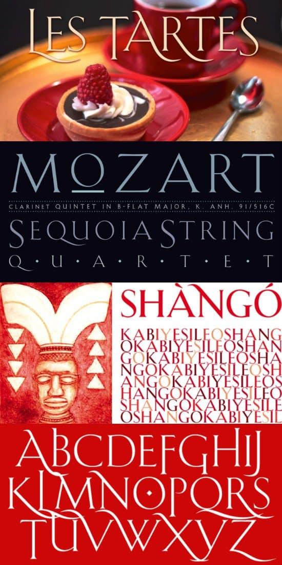 Shango шрифт скачать бесплатно