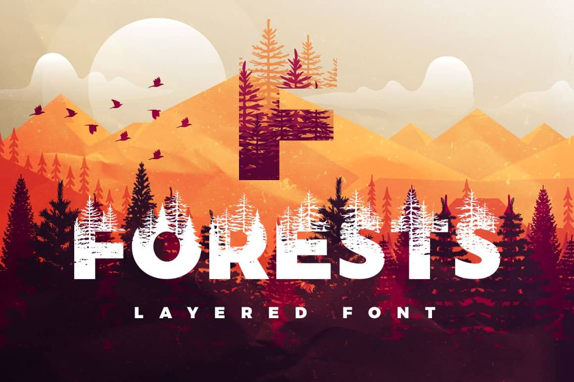 Download Forests font (typeface)
