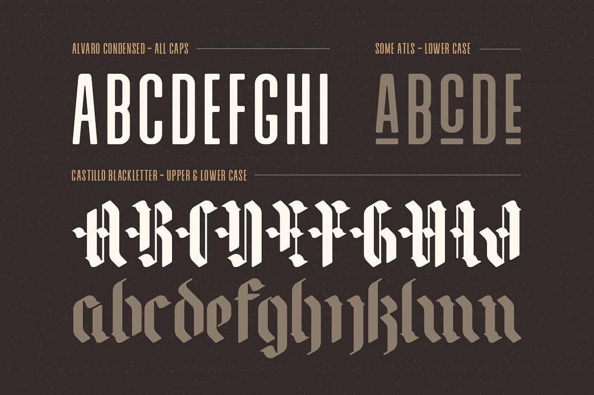 Alvaro шрифт скачать бесплатно