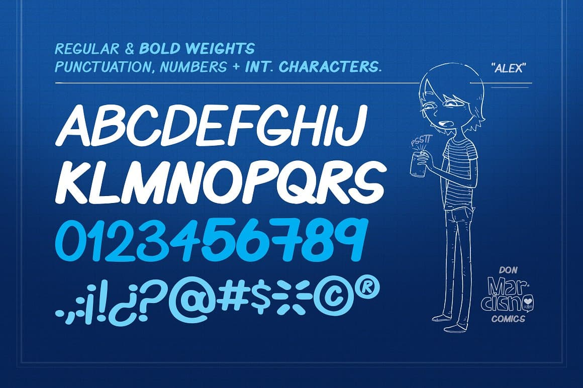 Download Benja font (typeface)