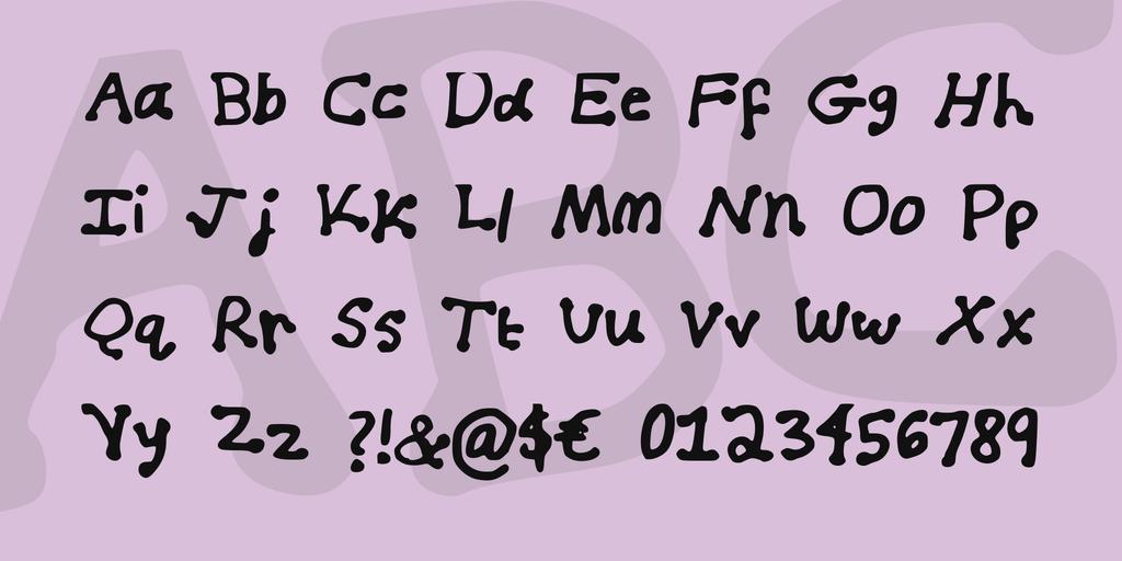 Download Blueberry Milk font (typeface)