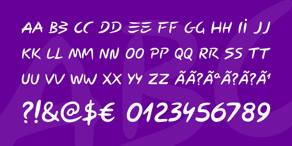 Download Carybe font (typeface)