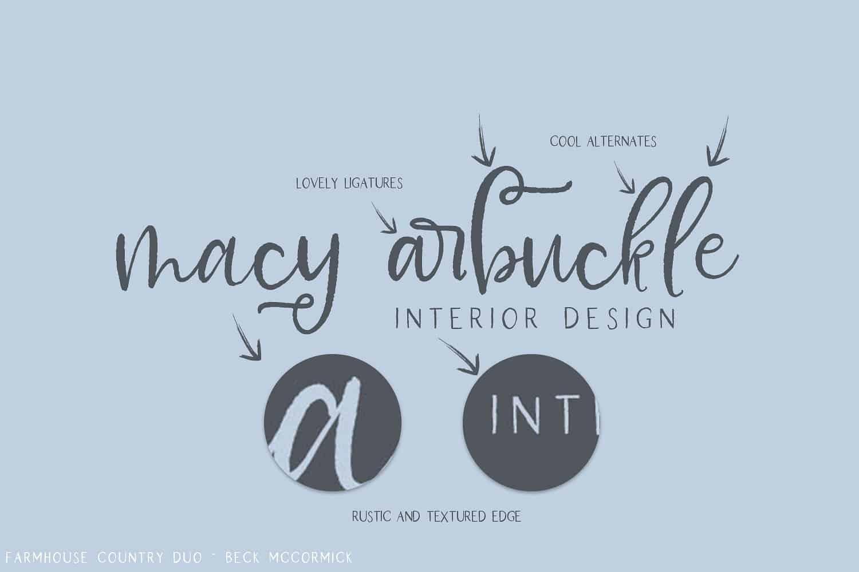 Download Farmhouse font (typeface)