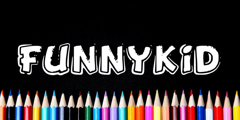 Download Funny Kid font (typeface)