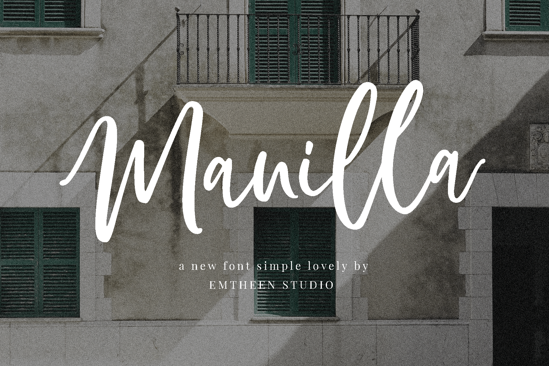 Download Manilla font (typeface)