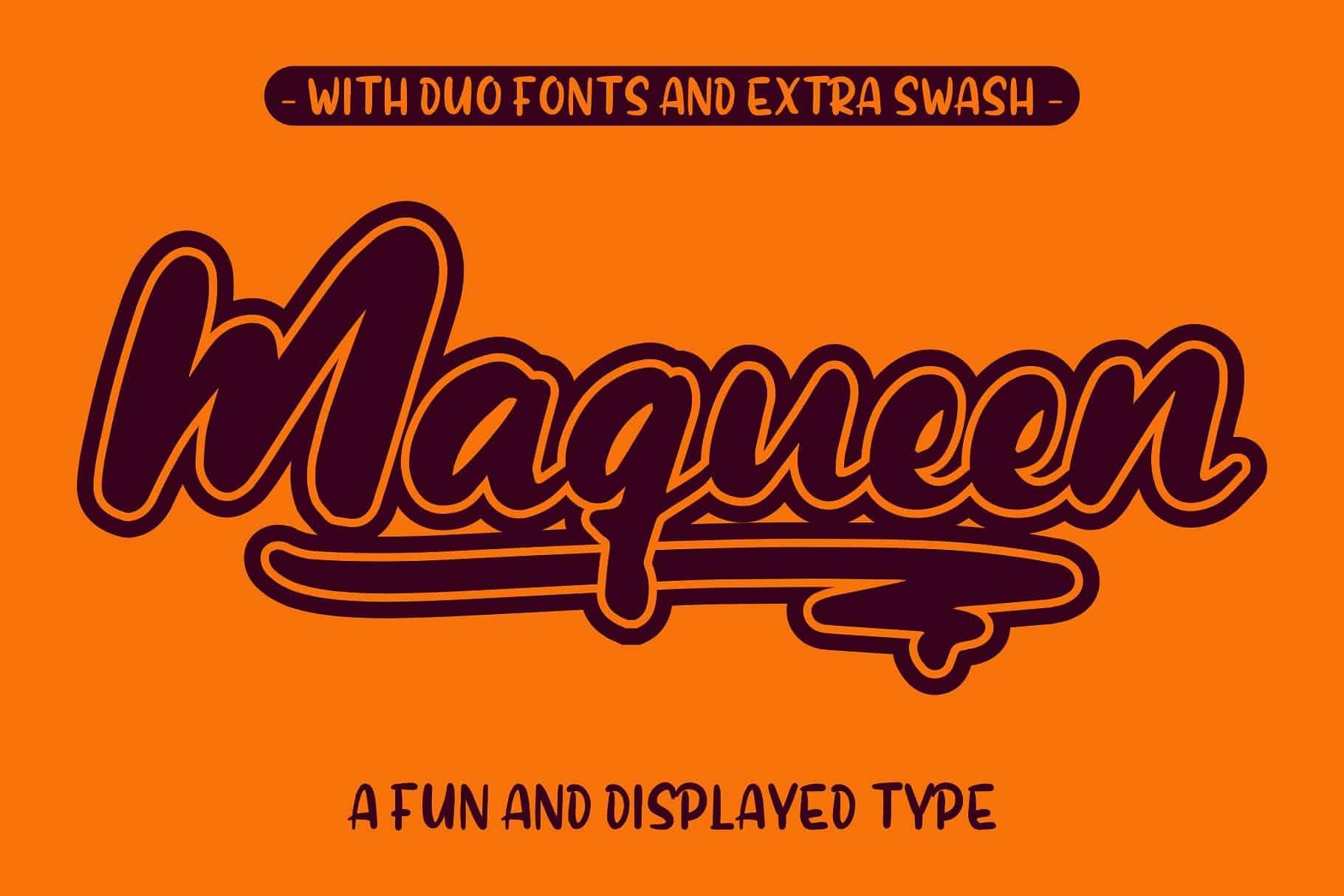 Download Maqueen font (typeface)