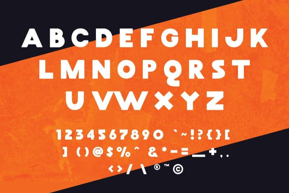Maskoolin шрифт скачать бесплатно