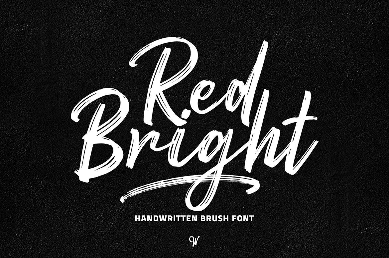 Red Bright шрифт скачать бесплатно