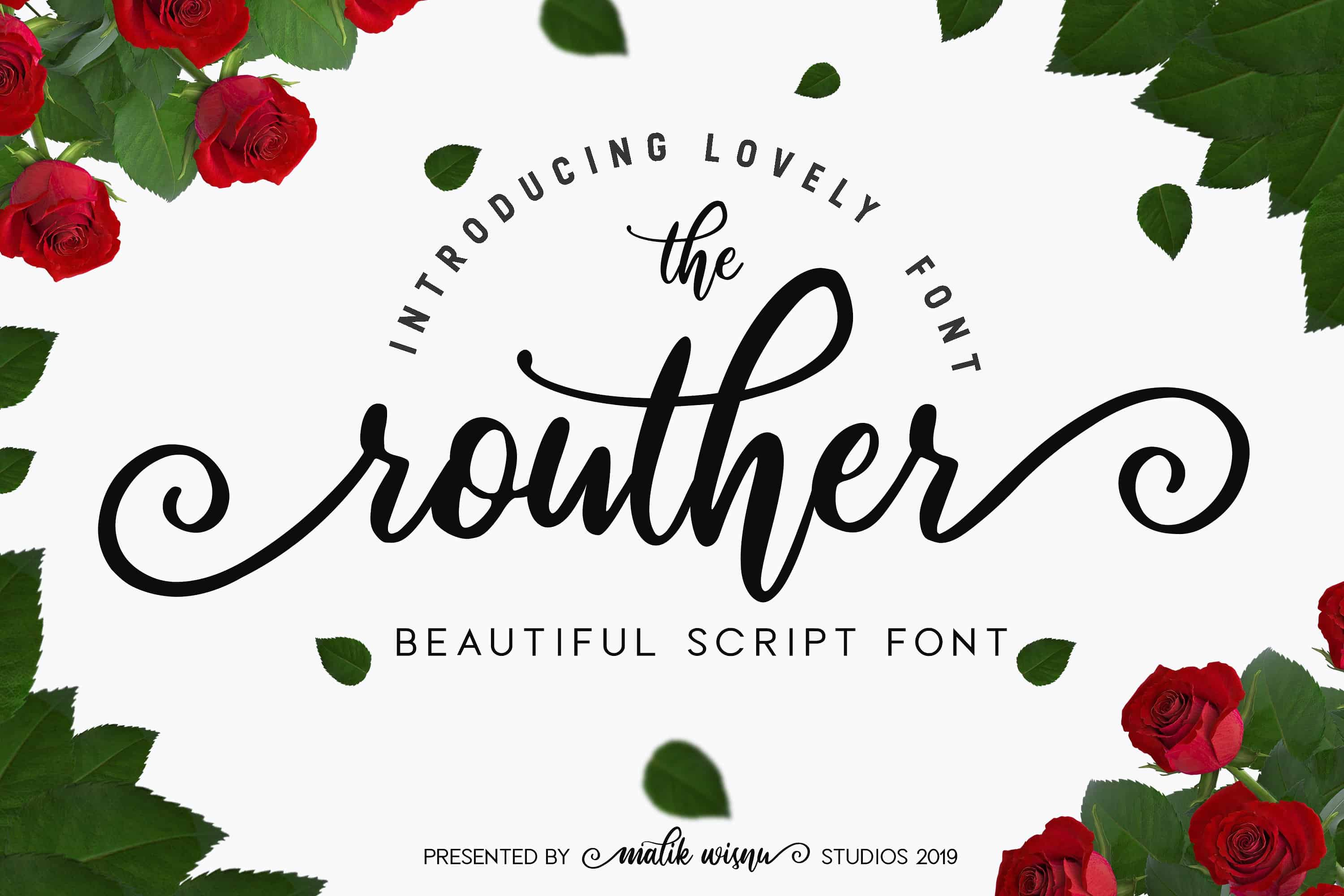Download Routher font (typeface)