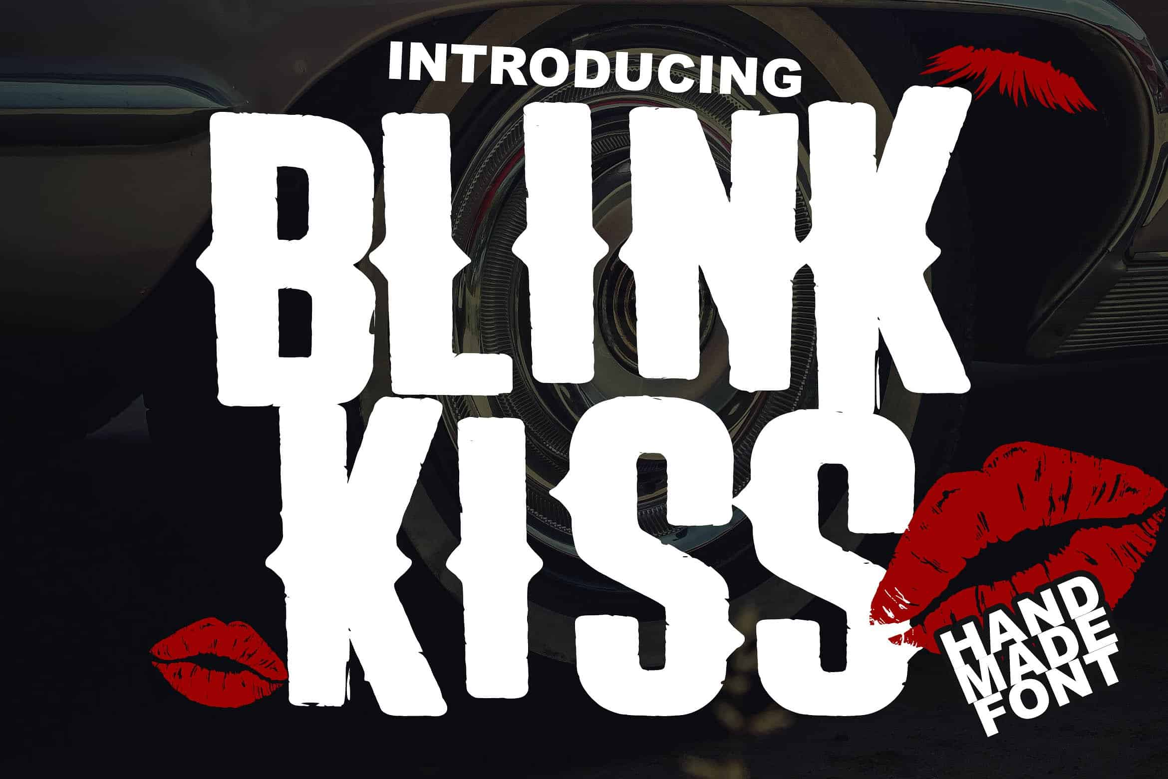 Download The Blink Kiss font (typeface)