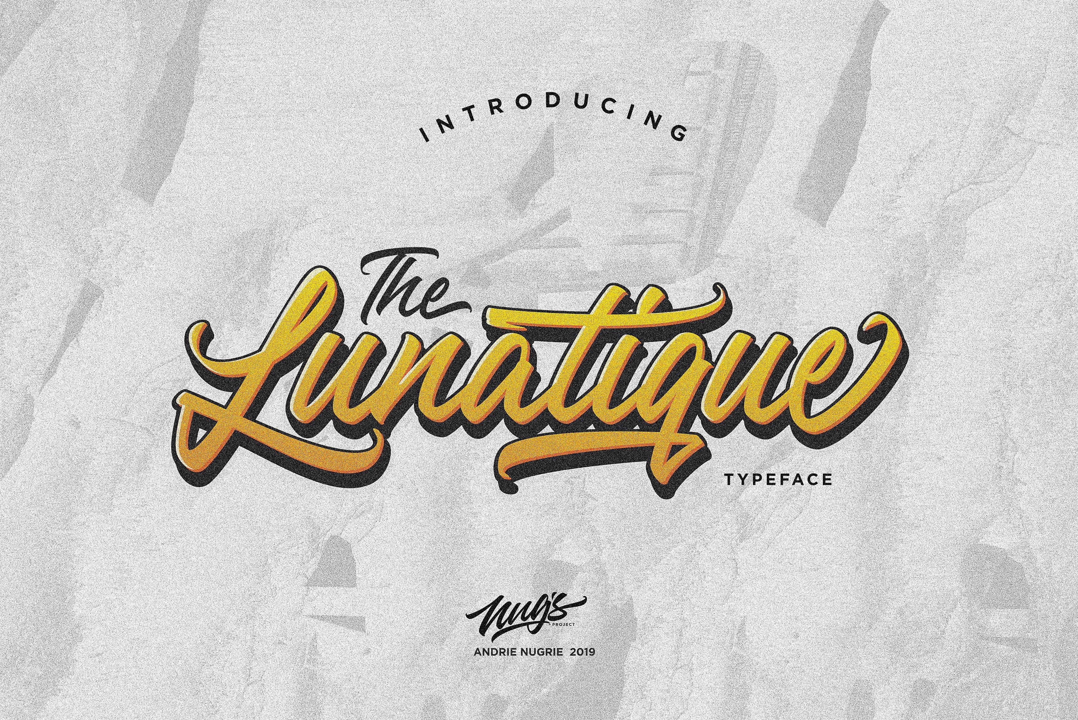 Download The Lunatique font (typeface)