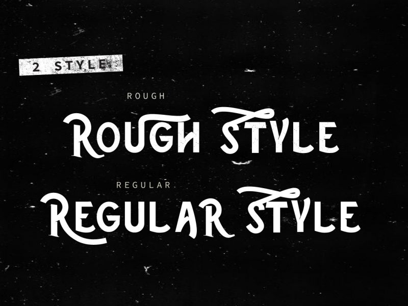 Download The Rustic font (typeface)