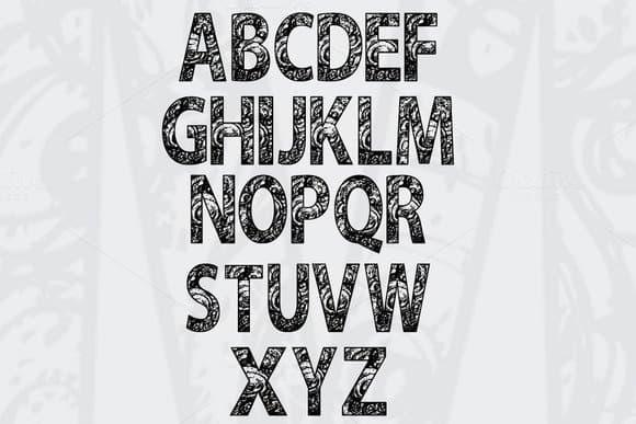 Round Sketch шрифт скачать бесплатно