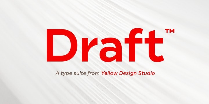 Download Draft font (typeface)