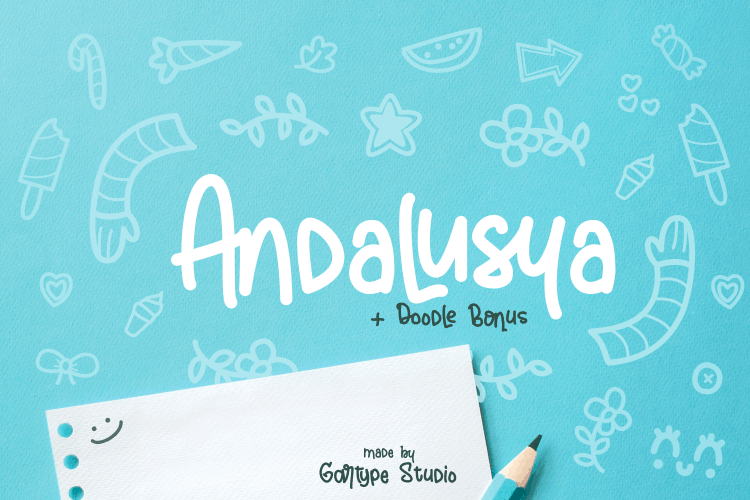 Download Andalusya font (typeface)