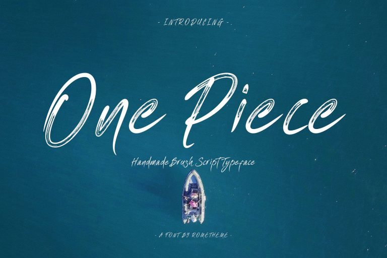 Download One Piece font (typeface)