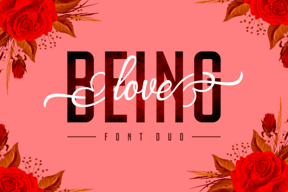 Download Being Love font (typeface)