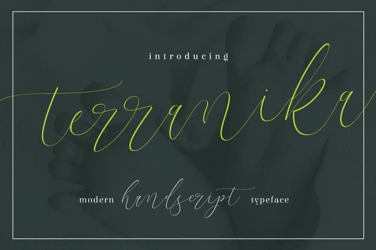 Terranika шрифт скачать бесплатно