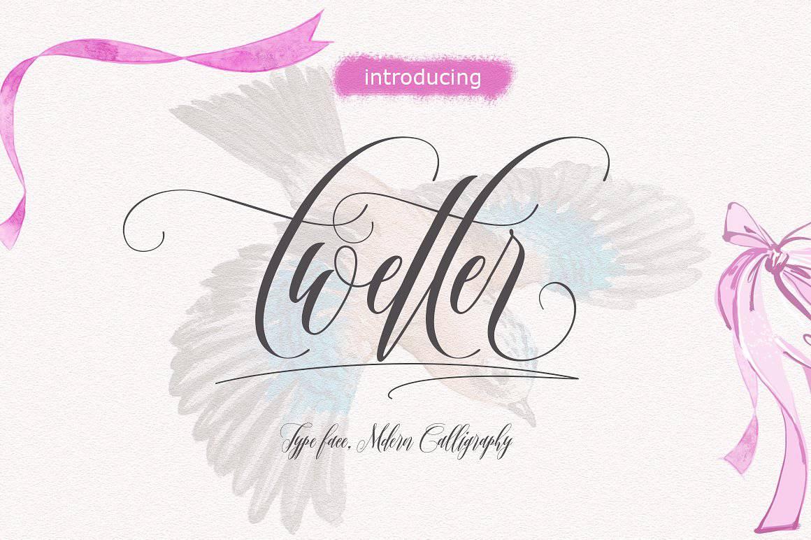 Download Twetter font (typeface)