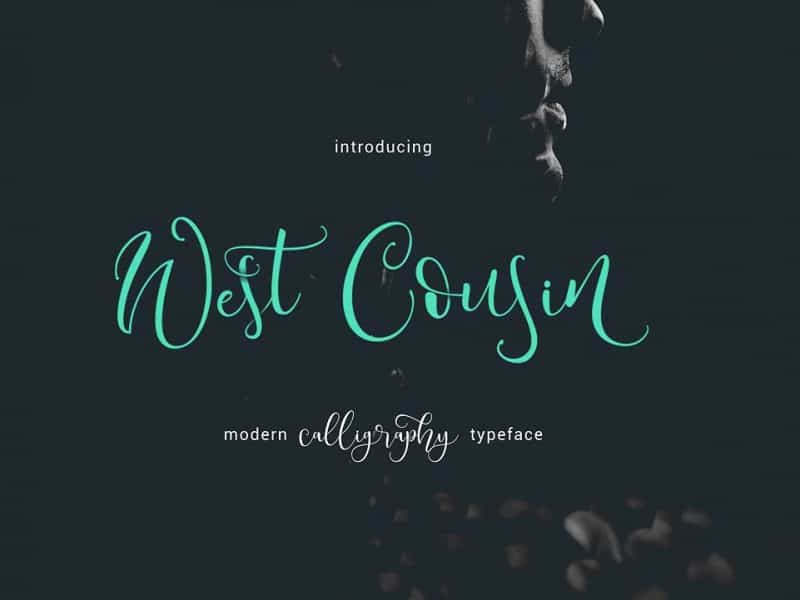 Download West Cousin font (typeface)
