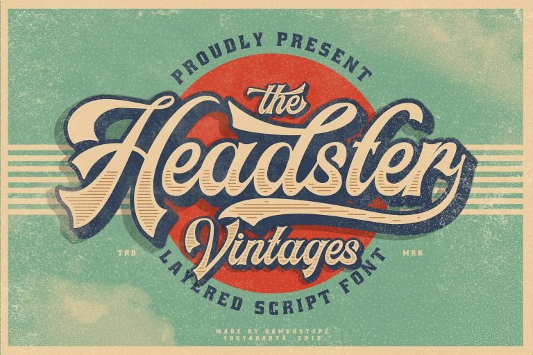 Download Headster font (typeface)