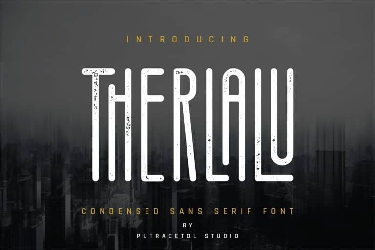 Download Therlalu font (typeface)