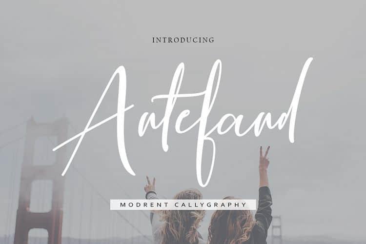 Antefand шрифт скачать бесплатно